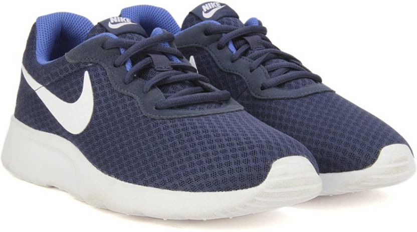 Nike Tanjun Navy White Mens Trainers