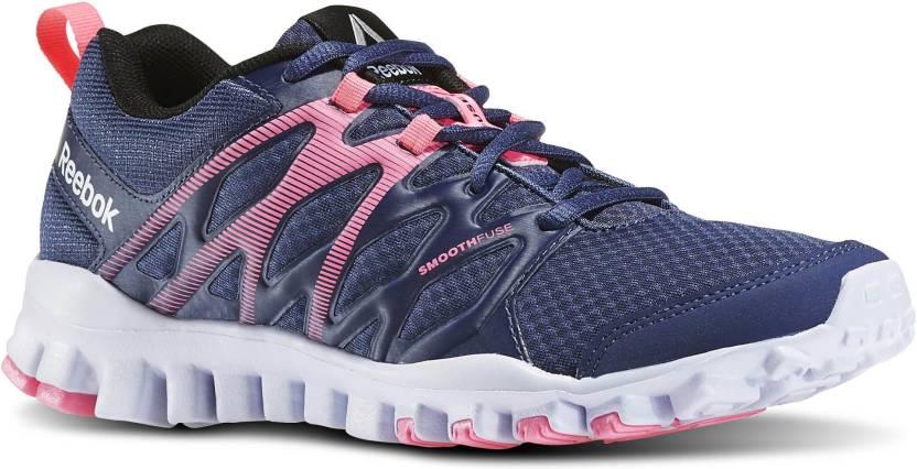 4295d83f4e8f REEBOK REALFLEX TRAIN 4.0 Walking Shoes For Women - Buy Blue Color ...