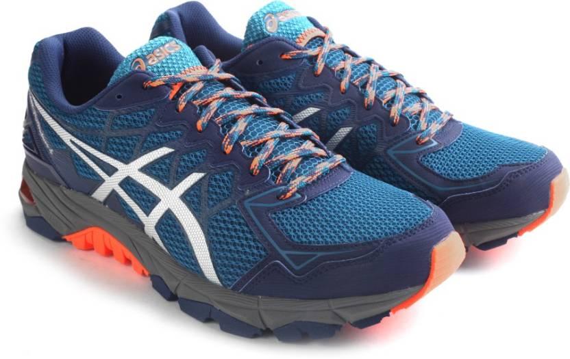 huge discount 0f6d2 0b7eb Asics Gel-Fujitrabuco 4 Men Running Shoes For Men (Blue, White)