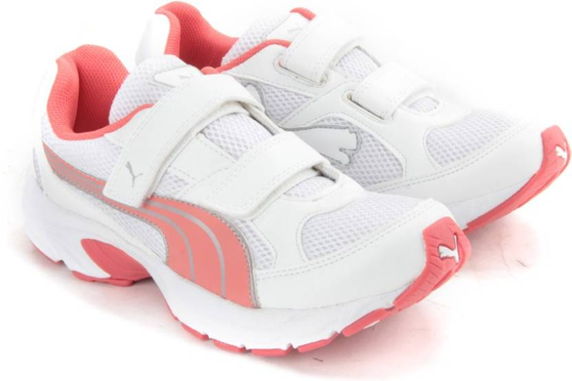 fe0aa1cadc24c Puma Axis Velcro Wn`s DP Running Shoes For Women - Buy White ...