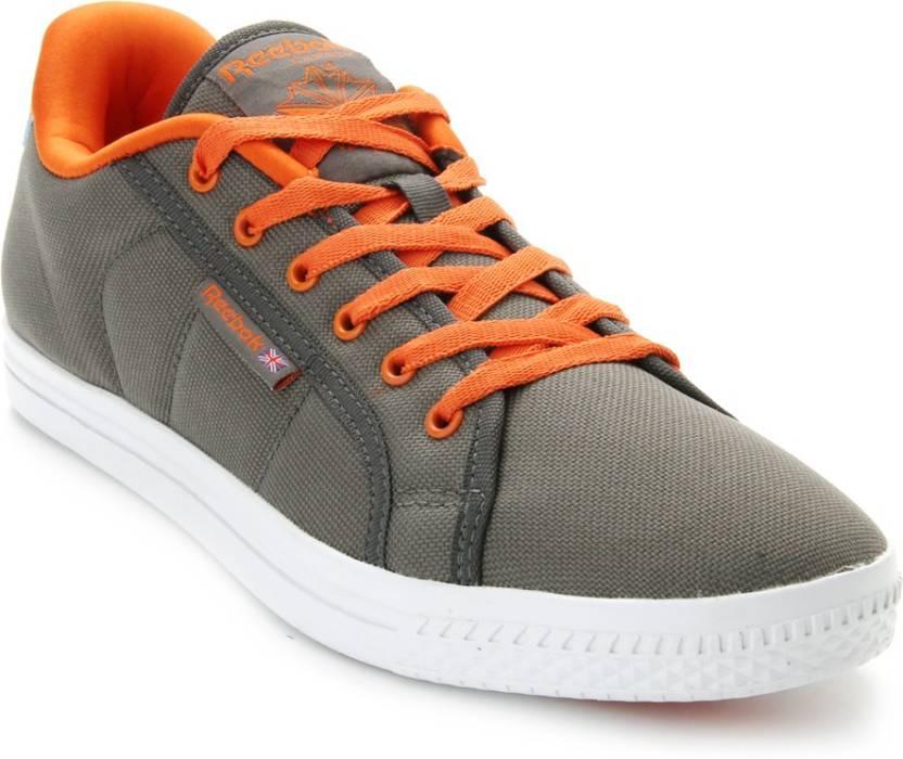 reebok on court iv lp canvas shoes buy rivet grey