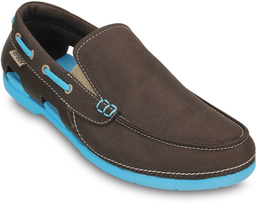 d4bd54111c0f10 Crocs Boat Shoes For Men - Buy 15386-23I Color Crocs Boat Shoes For ...
