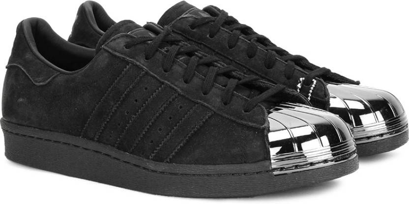 3fd08daecbb0 ADIDAS SUPERSTAR 80S METAL TOE W Sneakers For Women (Black). Price  Not  Available