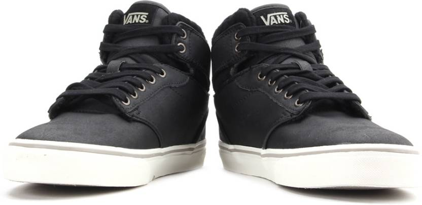 4d7d21908 Vans Atwood Hi Sneakers For Men - Buy (Leather) Black