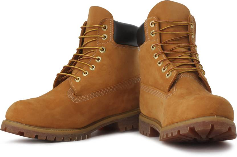 Timberland 6 Inch Premium Boots For Men - Buy Brown Color Timberland ... ff8d81649a2ae