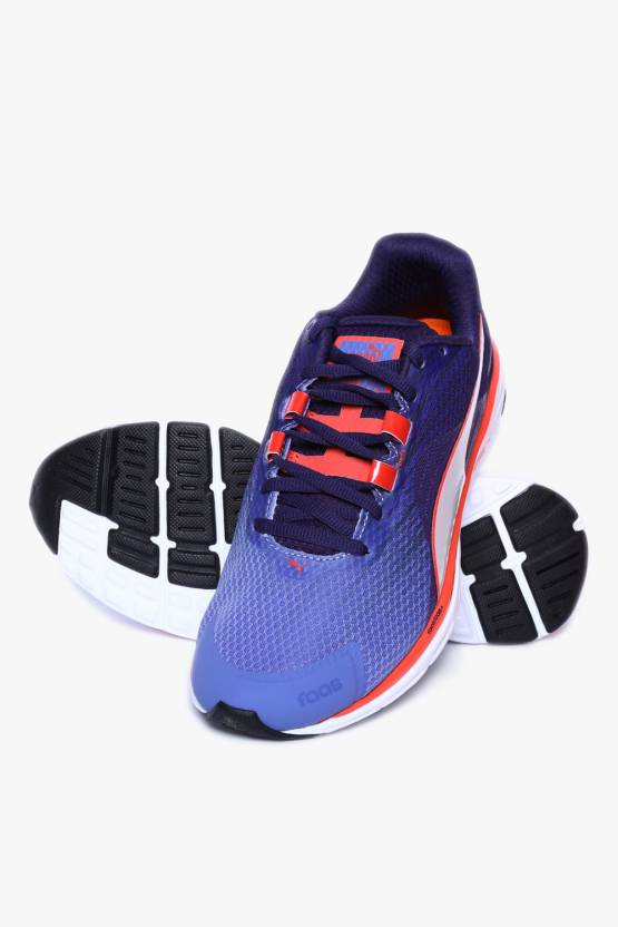 the latest 17bcc 82b57 Puma Faas 500 V4 Wn Bleached Denim-Astral -Cayenne Running Shoes For Women