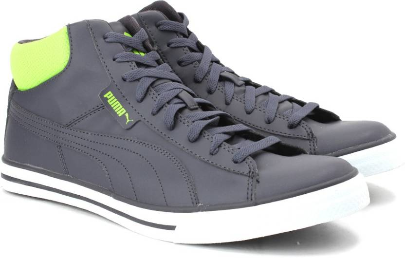 Puma Salz Mid DP Sneakers For Men - Buy periscope-lime punch Color ... 8bbc55542