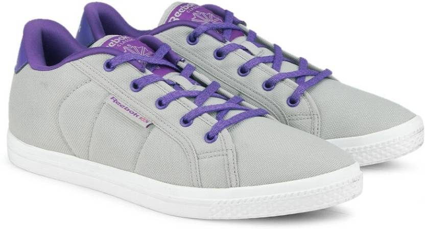 1825e07c096ad5 REEBOK On Court Iv Lp Canvas Shoes For Women - Buy Light Grey ...