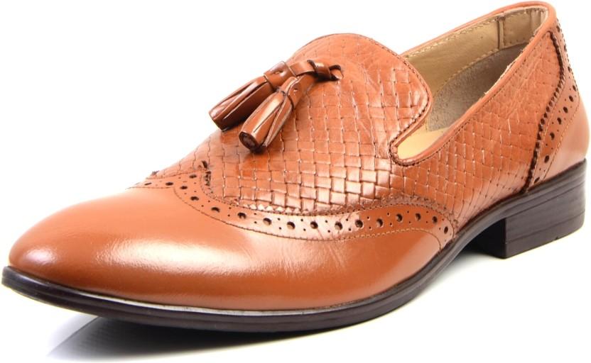 Designer Indian Handmade Kolhapuri Camel Color Sweat Leather Slipper For Men