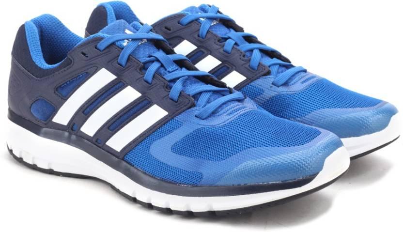 the best attitude bc761 fa4bd ADIDAS DURAMO ELITE M Running Shoes For Men (Blue)