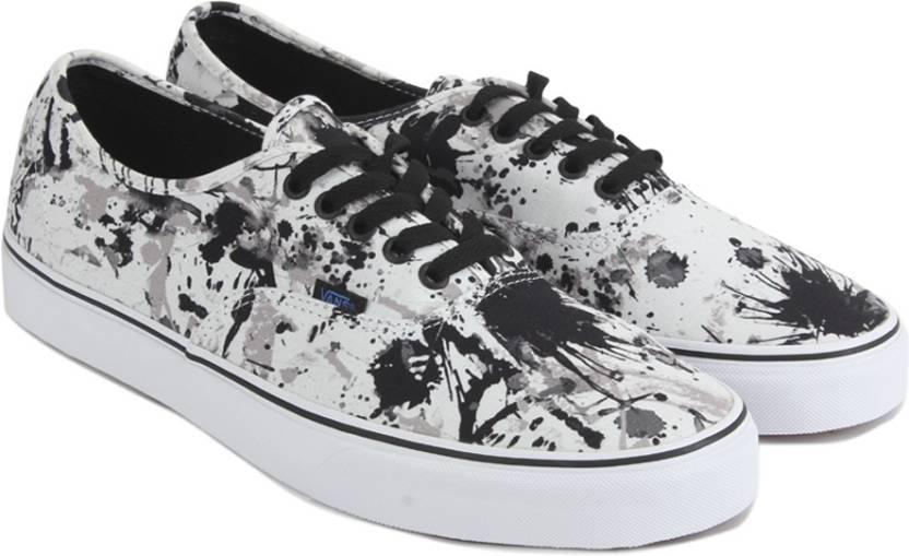 aa445aa32a7 Vans Authentic Sneakers For Men - Buy (Paint Splatter) black true ...