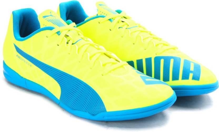 fa0c47515c4 Puma evoSPEED 5.4 IT Badminton Shoes For Men - Buy safety yellow ...