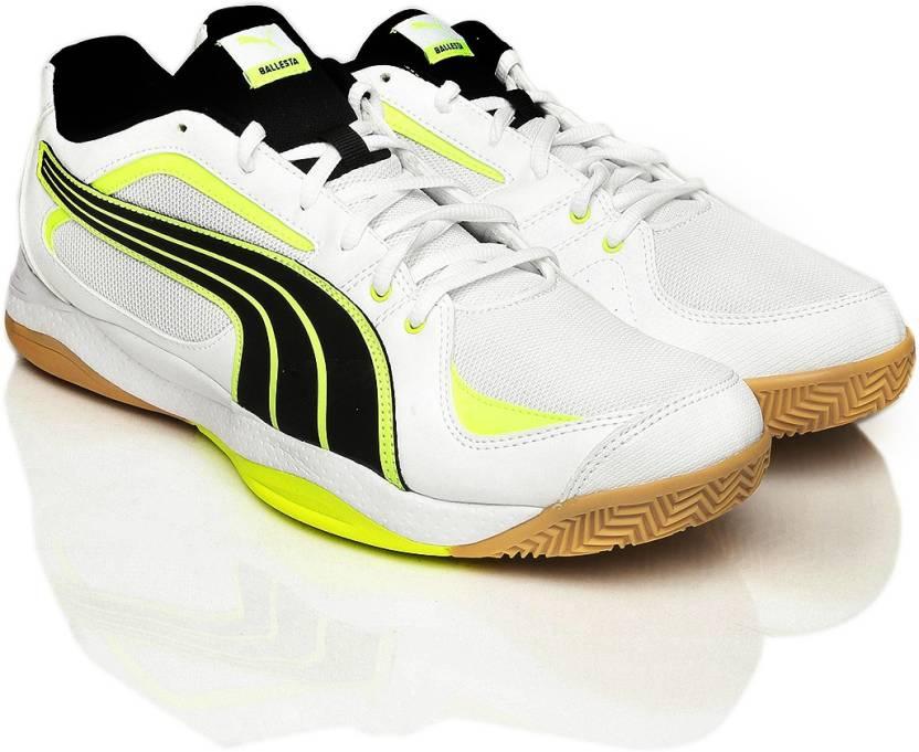 cb099d36f7911d Puma Badminton Shoes For Men - Buy White Color Puma Badminton Shoes ...