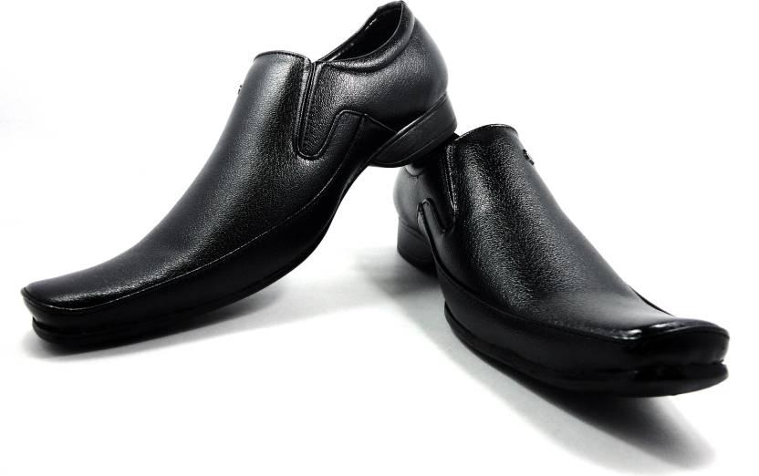 63e4a73bf7 Eros Formal Slip On Shoes For Men - Buy Black Color Eros Formal Slip ...