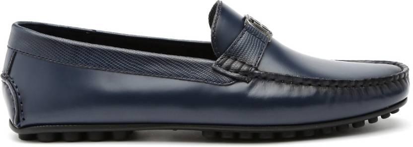 aa5ef2e05 Tommy Hilfiger Loafers For Men - Buy Dark Blue Color Tommy Hilfiger ...