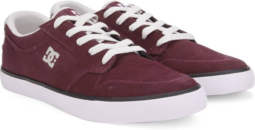 Dc Argosy Vulc M Shoe Sneakers For Men Buy Burgundy Color Dc
