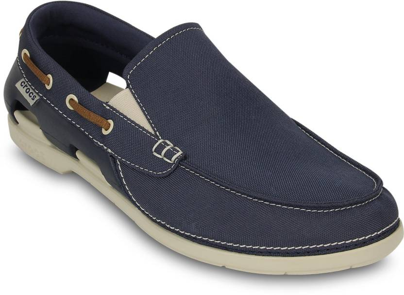ac88a433d Crocs Beach Line M Boat Shoe For Men - Buy Blue Color Crocs Beach ...