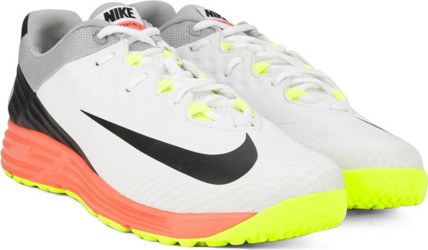 21e328353 Nike POTENTIAL 3 Cricket Shoes For Men - Buy WHITE BLACK-WLF GREY ...
