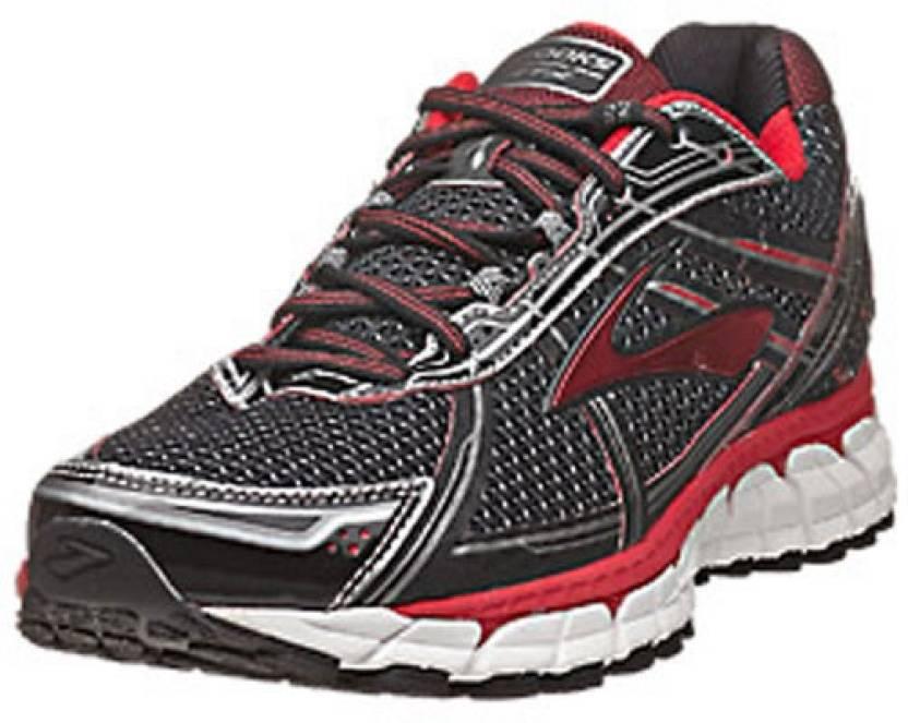 5beaad4b2d4 Brooks Adrenaline GTS 15 Men s Running Shoes For Men - Buy Black-Red ...