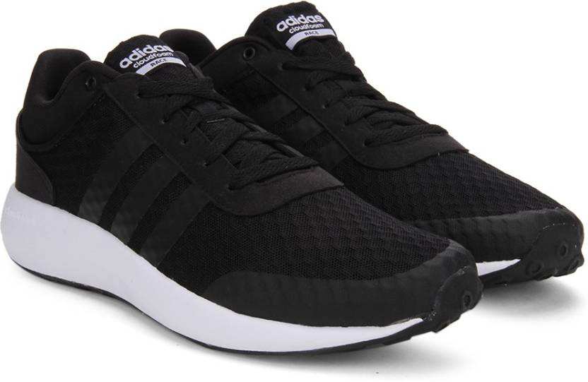 127ae5409a4c ADIDAS NEO CLOUDFOAM RACE Sneakers For Men - Buy CBLACK CBLACK FTWWHT Color ADIDAS  NEO CLOUDFOAM RACE Sneakers For Men Online at Best Price - Shop Online ...