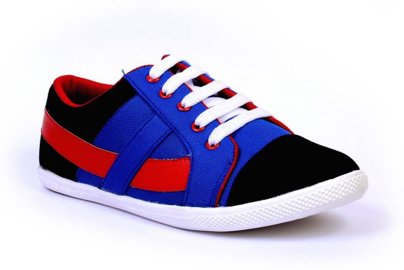 Sam Stefy Blue Red Canvas Shoes manchester great sale online online sale with paypal cheap online J2cGorUr