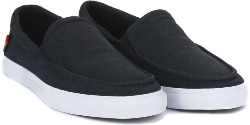 0211ccc72c Vans BALI SF Loafers For Men - Buy (HEMP) BLACK RASTA WHITE Color ...