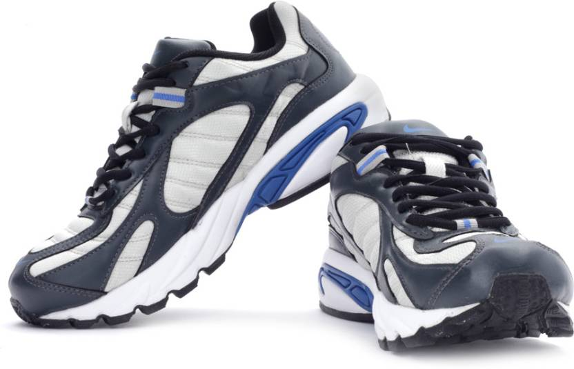 751c38b508c3ac Nike 2.04 In Running Shoes For Men - Buy Silver, Black Color Nike ...