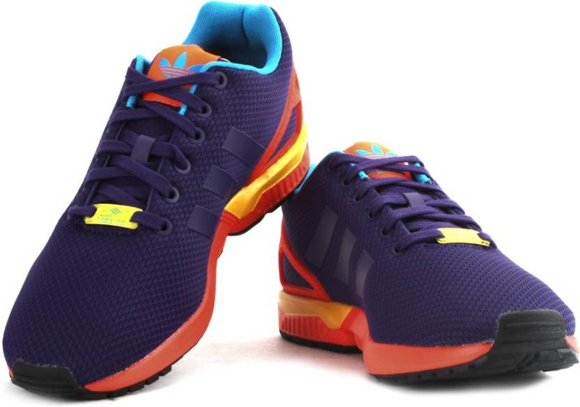 cheap for discount 668cd 79871 ADIDAS ZX FLUX Sneakers For Men - Buy Cpurpl, Solred Color ...