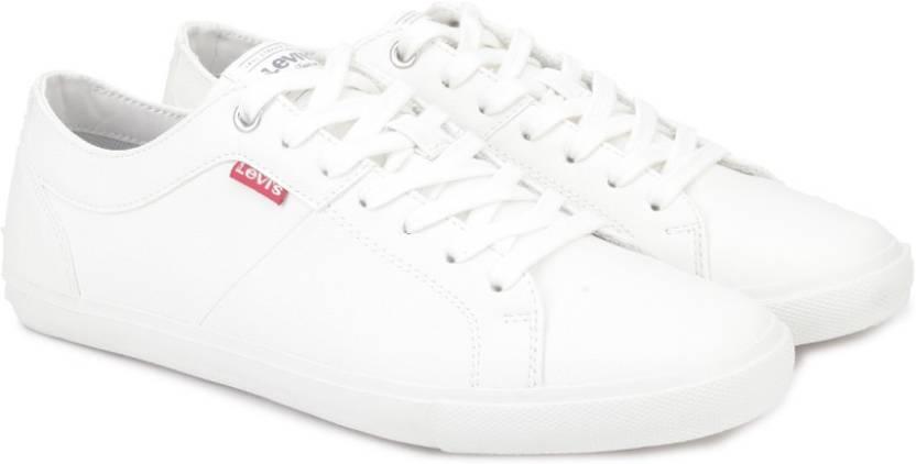 92ed138e Levi's Woods Sneakers For Men - Buy Brilliant White Color Levi's ...