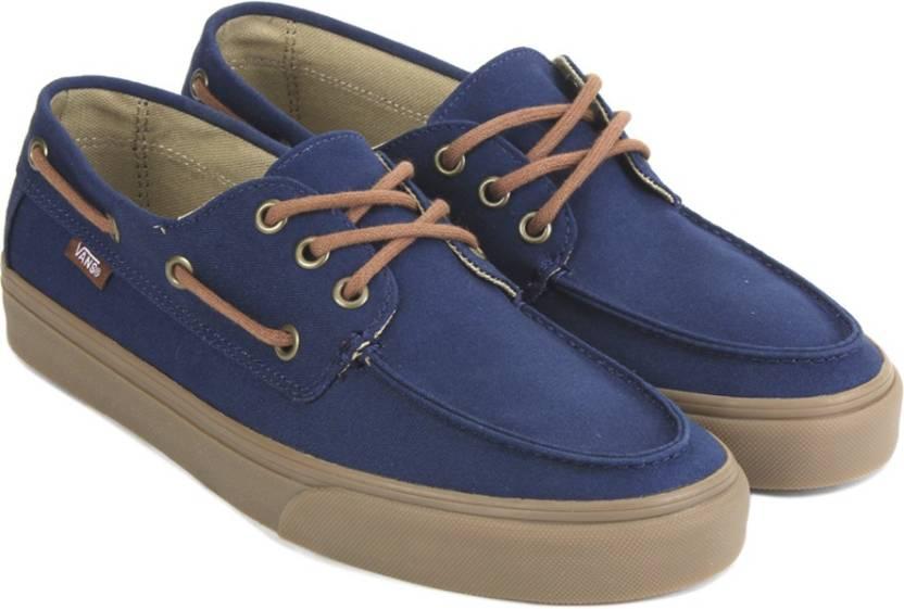 Vans CHAUFFEUR SF Boat Shoes For Men - Buy NAVY MEDIUM GUM Color ... 361af2de0