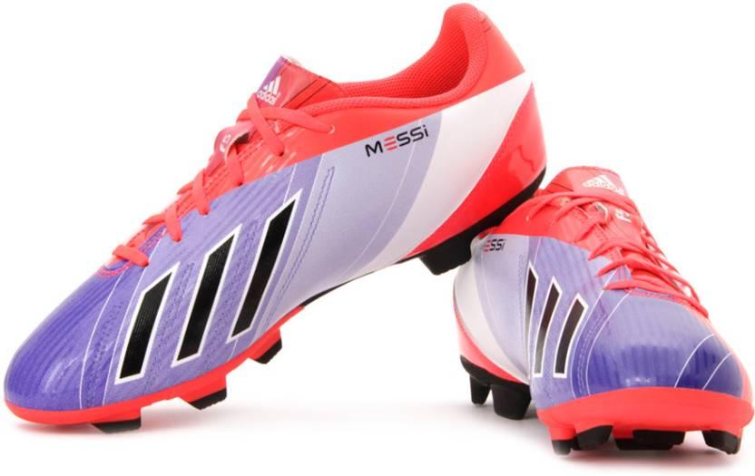 Adidas F5 Messi adidas f5 trx fg football shoes for men - buy blue, white, purple