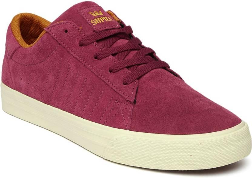 7f988e6e34 Supra Sneakers For Men - Buy Maroon Color Supra Sneakers For Men ...