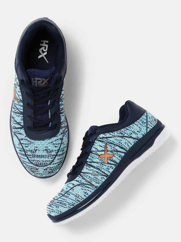 6cf1e642281 HRX by Hrithik Roshan Running Shoes For Women - Buy Blue Color HRX ...