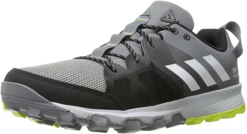 pick up 07230 ade96 ADIDAS KANADIA 8 TR M Running Shoes For Men (Grey)
