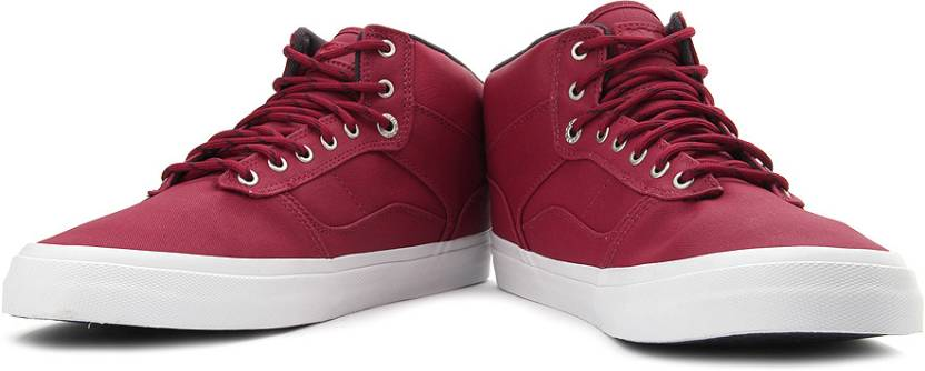 0118a2ffde Vans Bedford Canvas Sneakers For Men - Buy Dark Red