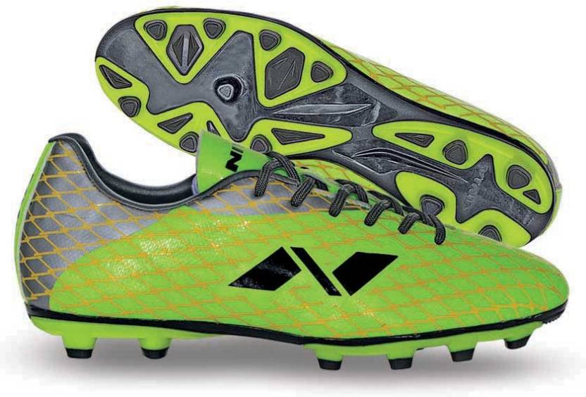 f071a94d009b Nivia Ditmar-1 Football Shoes For Men - Buy Green Color Nivia Ditmar ...
