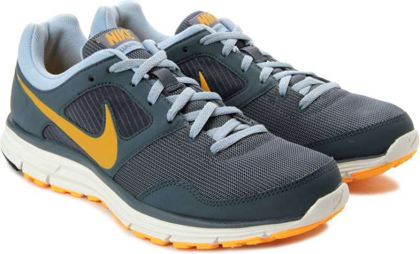 best authentic e2402 09b0f Nike Lunarfly Running Shoes For Women (Grey, White, Yellow, Blue)
