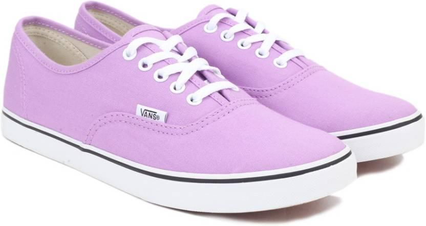 37d165a0ec1771 Vans Authentic Lo Pro Sneakers For Men - Buy Purple Color Vans ...
