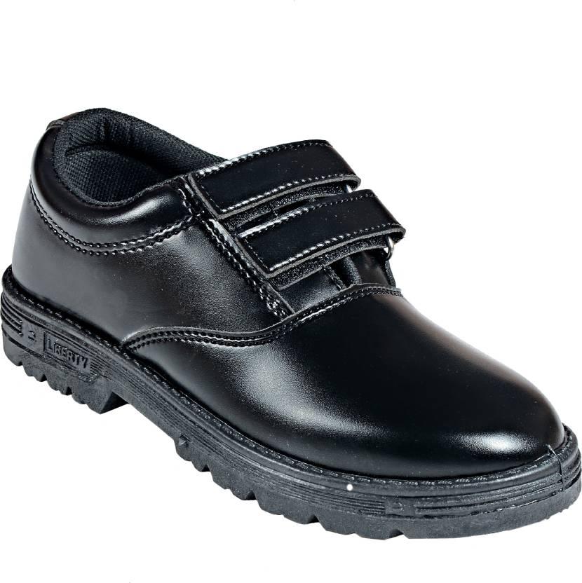e714785839 Liberty Slip-On School Shoes Slip On For Men - Buy Black Color ...