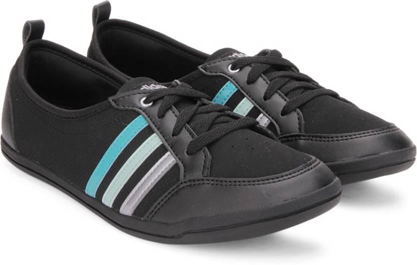 Adidas neo piona w scarpe da ginnastica per donne comprano cnero / shogrn / msilve