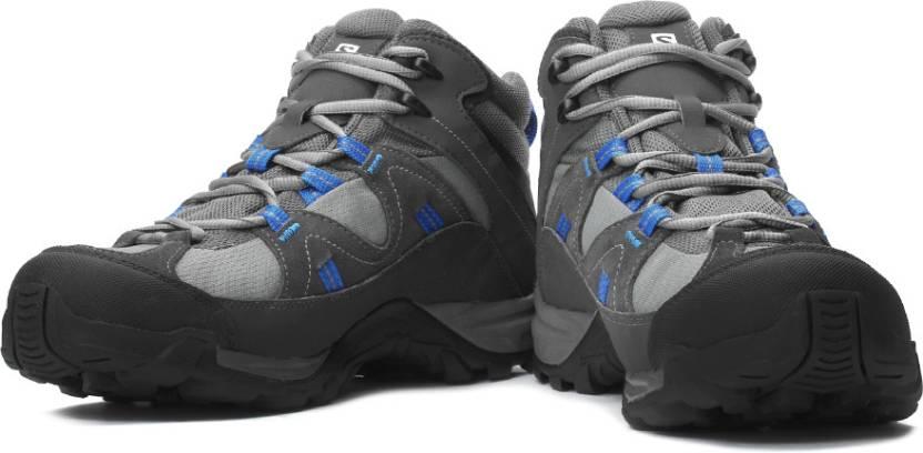Salomon Manila Mid Gtx Hiking Shoes For Men - Buy Black Color ... 386f998087