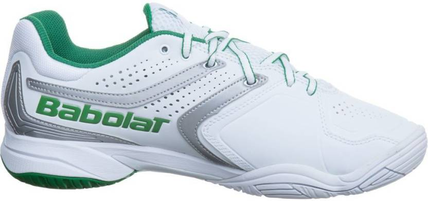 0259e5fe5 Babolat Drive 3 All Court Wimbledon Tennis Shoes For Men - Buy White ...