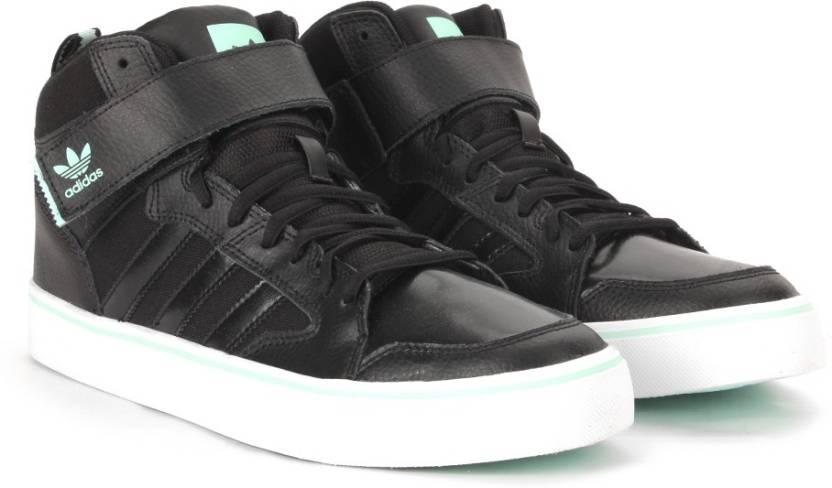 adidas originali varial ii metà scarpe per gli uomini comprano cblack / icegrn