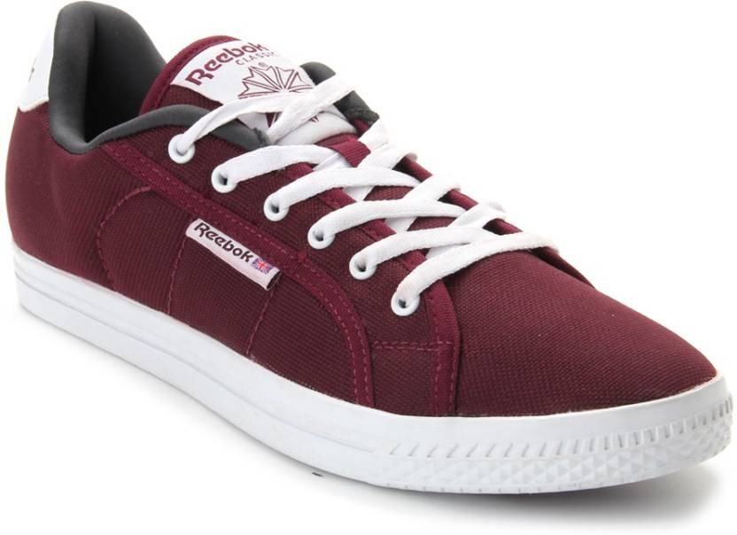 6c1e6d11e777e7 REEBOK On Court Iv Lp Canvas Shoes For Men (Maroon). Price  Not Available