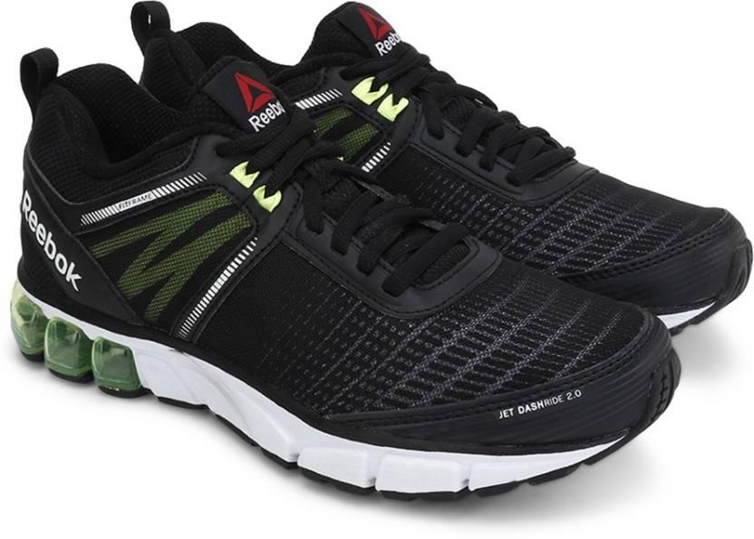 REEBOK JET DASHRIDE 2.0 Men Running Shoes For Men - Buy BLACK WHITE ... f60a0e9a9