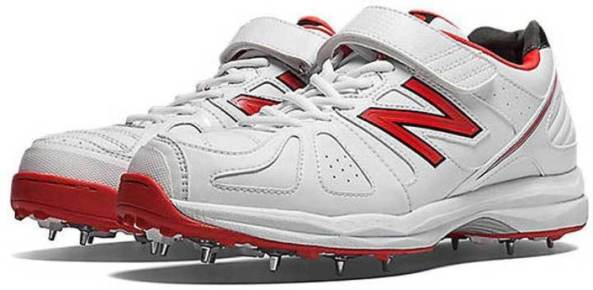 915c0e8072e5c New Balance Spikes Cricket Shoes For Men - Buy White Color New ...