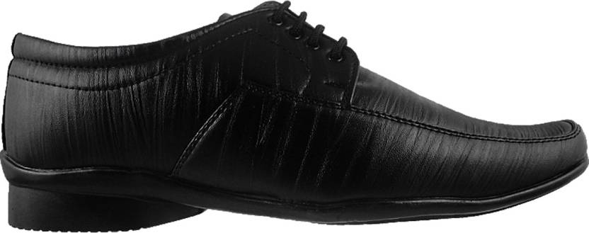 Action Synergy Fashion Line Pn9930 Lace Up Shoes For Men(Black)