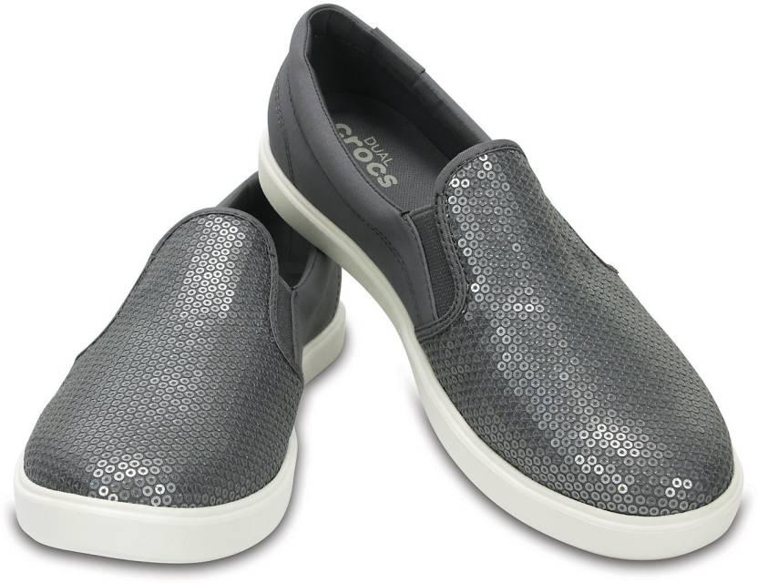 77229f484e137 Crocs CitiLane Sequin Boat Shoes For Women - Buy 204285-040 Color ...