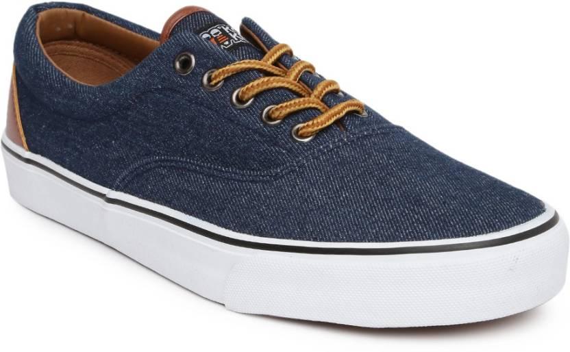 d08714cfb Kook N Keech Sneakers For Men - Buy Navy Color Kook N Keech Sneakers ...