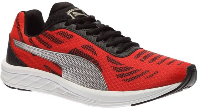 Puma Meteor Running Shoes For Men - Buy High Risk Red-Puma Silver ... c974066b3